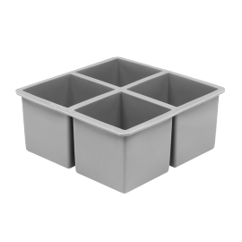 SQUARE ICE CUBE TRAY LARGE 6,35x6,35cm x4